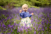 Location & Lifestyle photo bluebell sessions by Nalla photography